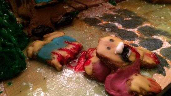 THE EVIL DEAD Gingerbread House