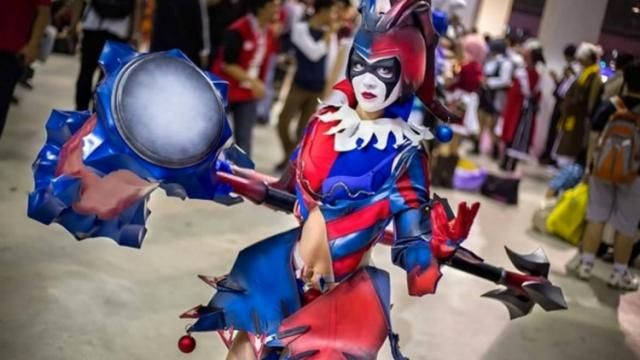 Terrific Harley Quinn Cosplay Inspired by Square Enix