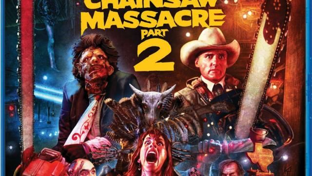 THE TEXAS CHAINSAW MASSACRE 2 Collectors Edition Blu-ray Release Date Details