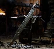 Pyramid Head's Great Knife from SILENT HILL Forged by Man At Arms [Video]