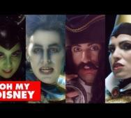 Disney Villains Sing OneRepublic Counting Stars [Video]