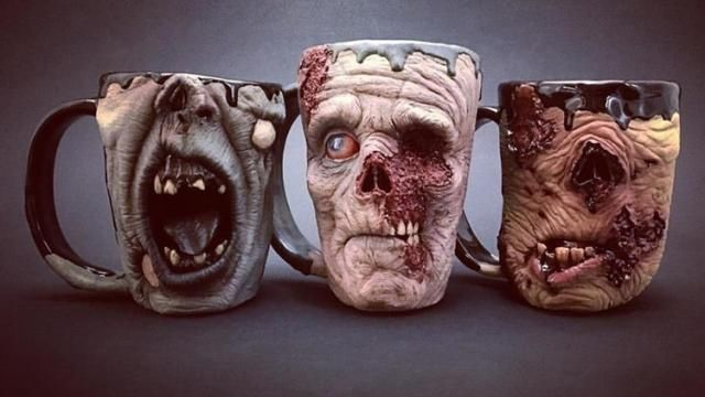 Fantastic Looking Monstrous Coffee Mugs