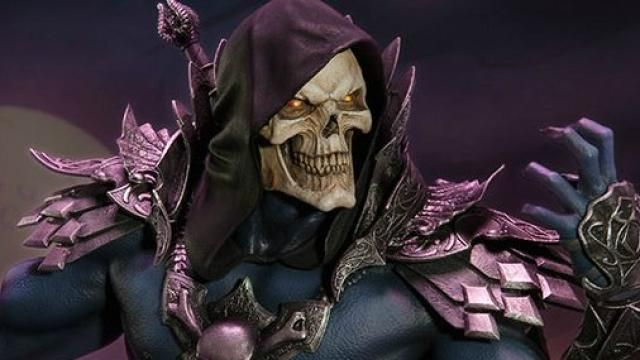 Sideshow Collectibles Skeletor Statue Photos