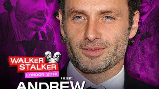 Andrew Lincoln to Appear at Walker Stalker Con London 2016