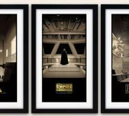 STAR WARS Trilogy Art by Matt Fergusson