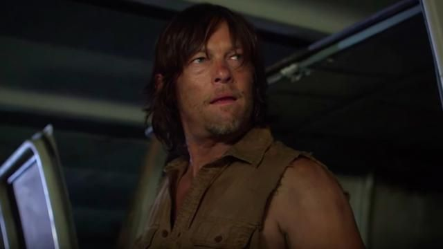 Watch Norman Reedus vs. Hoverboard Zombies [Video]