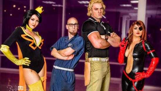 Awesome THE VENTURE BROS. Cosplay