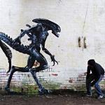 Aliens Street Art