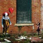 Stephen Kings It Street Art