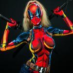 Lady Deadpool Cosplay 1