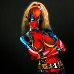 Lady Deadpool Cosplay 4