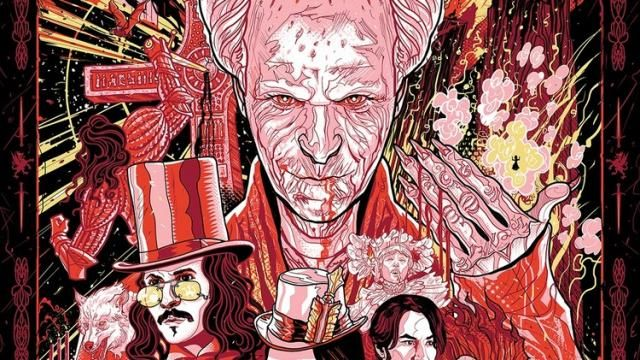 BRAM STOKERS DRACULA Tribute Art by PJ McQuade