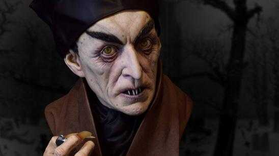 Life-Size NOSFERATU Bust from Black Heart / Sideshow Collectibles