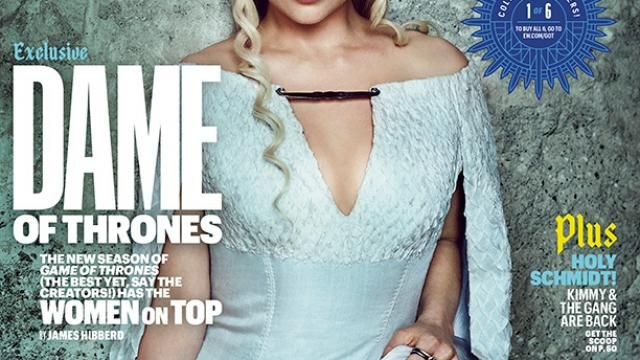 GAME OF THRONES Season 6 EW Covers