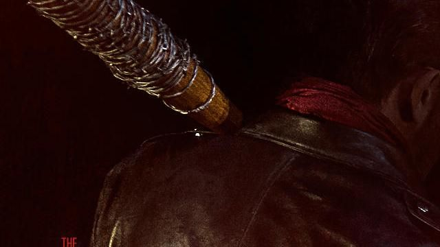 THE WALKING DEAD Season 6 Finale Negan and Lucille Tease Photo