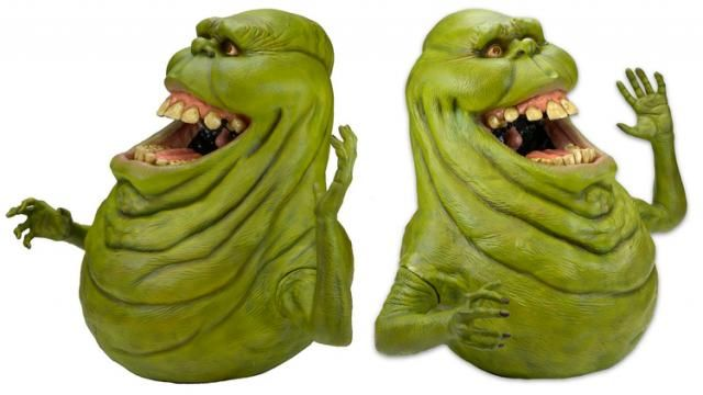 New Life-Size Slimer Replica Created Using The Original GHOSTBUSTERS Character Molds