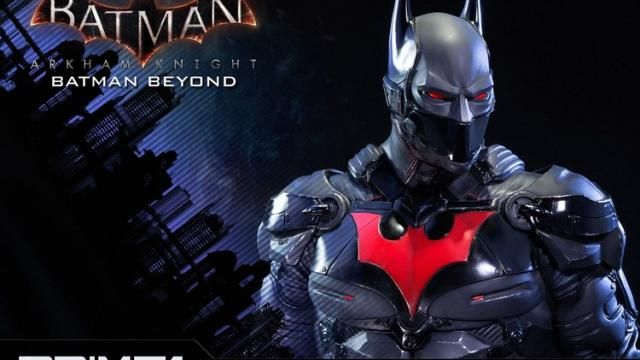 Stunning Batman Beyond ARKHAM KNIGHT Statue Figure
