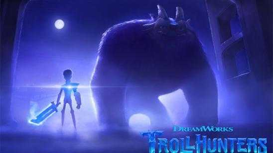 First Look at Guillermo del Toros Animated Netflix TROLLHUNTERS Series
