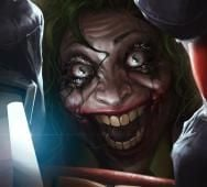 Terrifying Art of Martha Wayne as THE JOKER from Flashpoint Universe