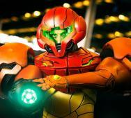 Amazing Samus Aran Power Suit Cosplay