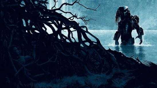 Striking PREDATOR Tribute Art - THRILL OF THE HUNT