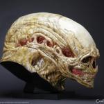 Alien Life Size Head 07