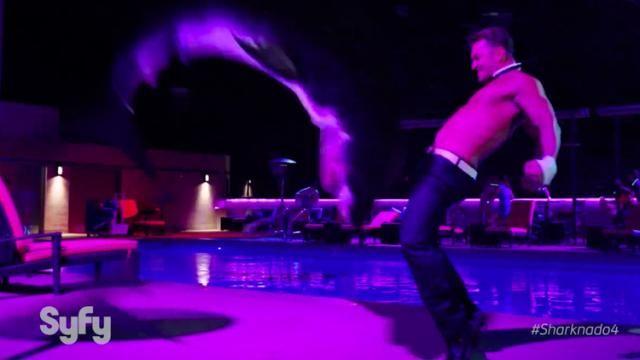 SHARKNADO 4: THE 4TH AWAKENS Teaser Trailer is Ridiculous [Video]