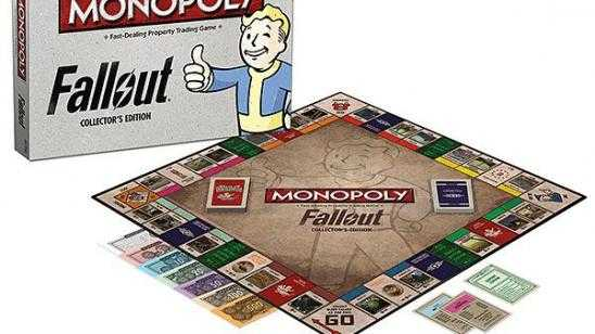 FALLOUT Monopoly Collectors Edition Game