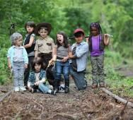 Photos of Kids Cosplaying THE WALKING DEAD Characters