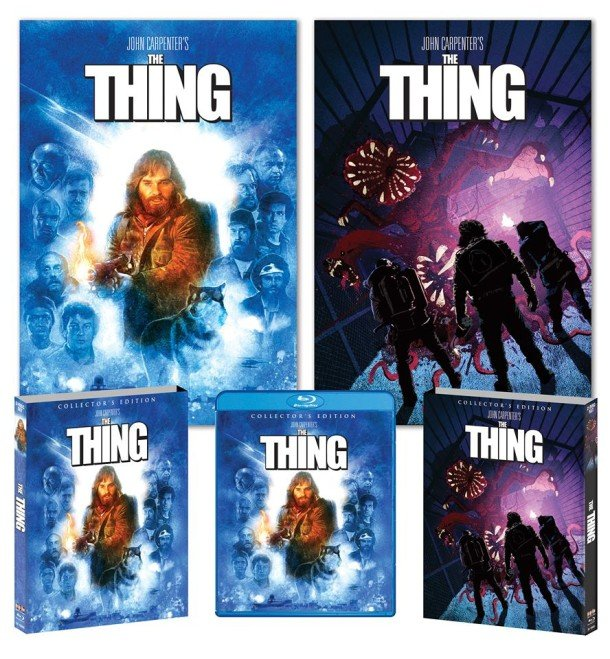 The Thing Cover Art Blu Ray