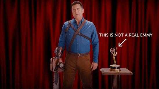Bruce Campbell Wants an Emmy Award Nomination For ASH VS EVIL DEAD