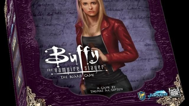 BUFFY THE VAMPIRE SLAYER Board Game Reveal Details!