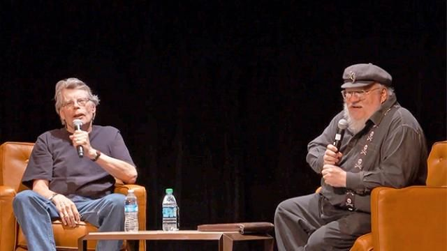 George R.R. Martin asks Stephen King: How do you write so fast?