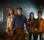 ASH VS EVIL DEAD Season 2 Photo Featuring Ash, Ruby, Kelly, Pablo
