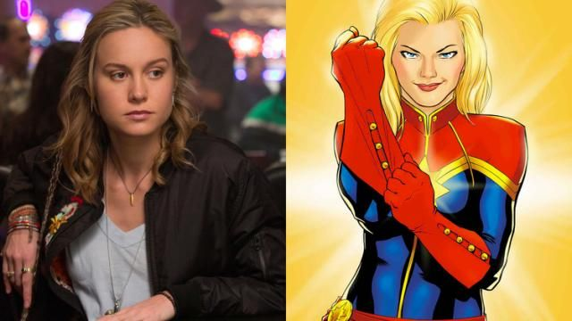 Brie Larson Confirmed to Play CAPTAIN MARVEL!