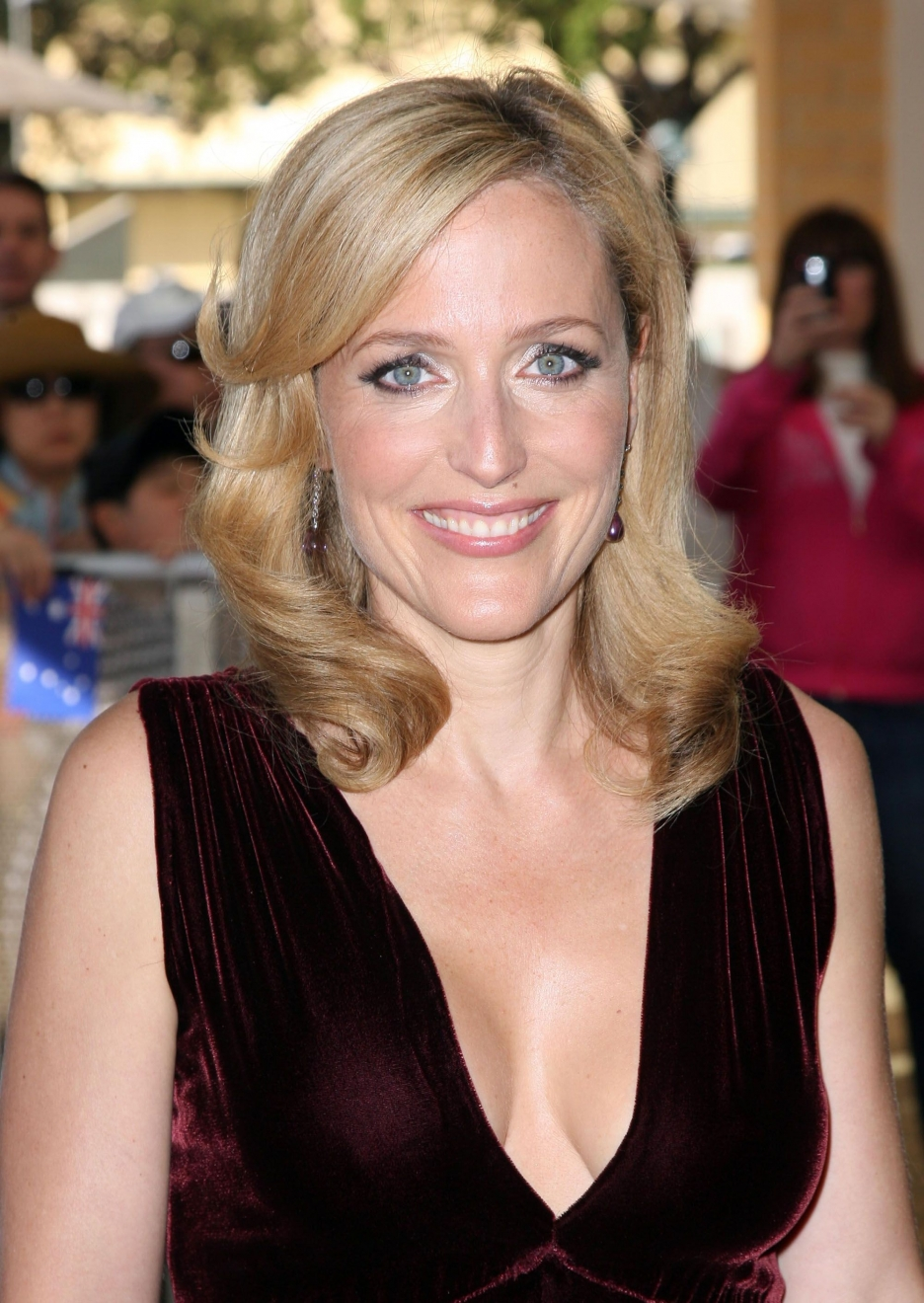 Watch Gillian Anderson born August 9, 1968 (age 50) video