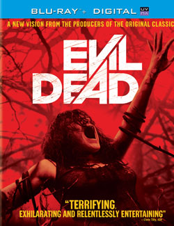 Evil Dead Blu-Ray giveaway prize