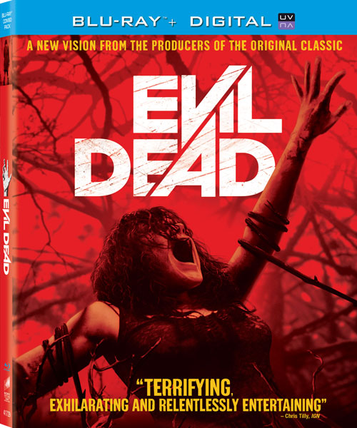 Evil Dead Blu-Ray free online giveaway prize