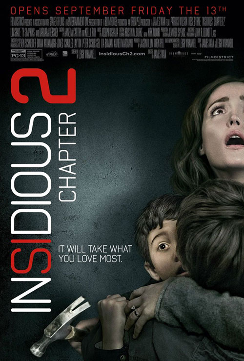 Insidious: Chapter 2 & 1 Blu-Ray Combo Pack free online giveaway prize