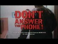 Don't Answer the Phone! (1980) - Trailer