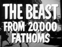 The Beast from 20000 Fathoms 1953  Trailer