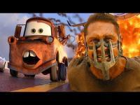 Funny Pixar's Cars / Mad Max: Fury Road Mash-up Video