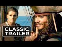 Pirates of the Caribbean: The Curse of the Black Pearl (2003) - Trailer movie trailer video